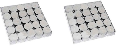 Rasmy Candles White Tea lights pac of 50pcs Candle