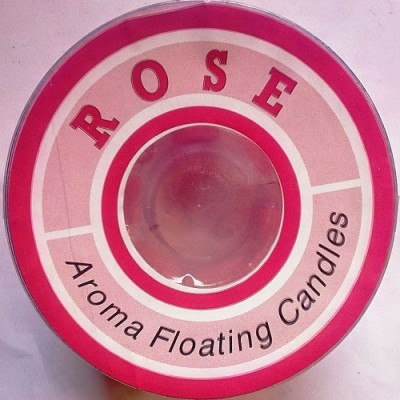 Azone Shopping Rose Aroma Sented Floting Candle