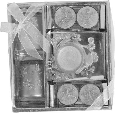 DCH Silver Coated Gift Pack Candle