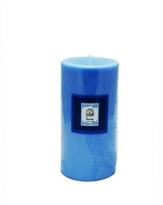 Yoga Collection by Aroma India Scented Colour Pillar Candles 3