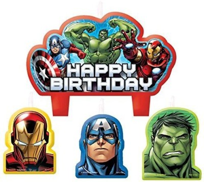 Amscan Assemble Birthday Candle Set Candle