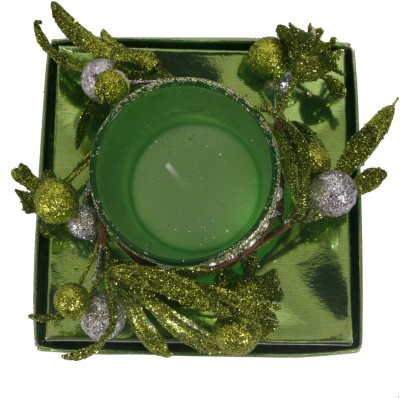 Divsam Luxurious Decorative Floral Bougie Candle