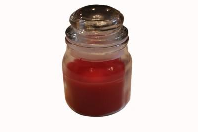 Fragrance Concoction Rose fragrance jar Candle