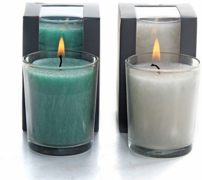 Deco Aro Aromatic Glass Candle - NCL554082 Candle