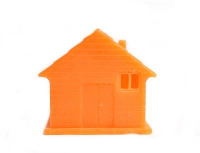 Aurocandles Wax House Orange Candle