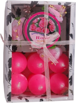 DCH Rose Scented Gift Pack Candle