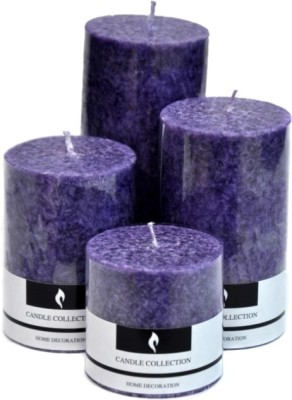 Marigold Stores Lavender Scented Candles -Set o 4 Candle