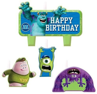 Amscan Monster University Themed Candle Set Candle