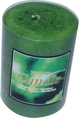 Asian Aura Fragrant Pillar Candle