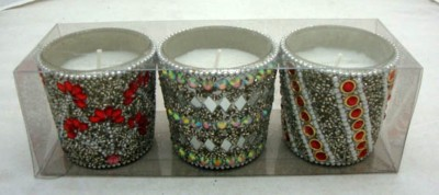 MH Beaded Candle