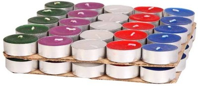 Toygully Multicolor Tea Light Candle