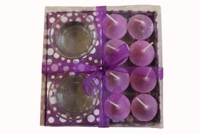 Fragrance Concoction Pack of 8 lavender fragrance votive Candle