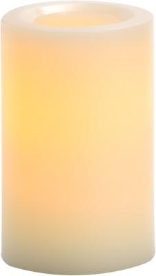 Expressme2u Flameless LED Candle(Beige, Pack of 1)
