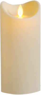 Cadence LED Flameless Candle(Beige, Pack of 1)