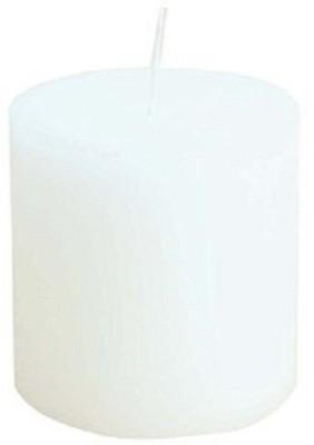 SATCHITANAND White Pillar Candle