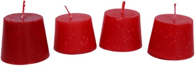 Samayah 2.0,, X 2.0,, Hand Crafted Small Tapper Set of 4 Candle