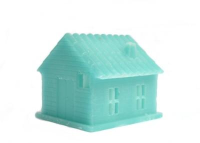 Aurocandles Wax House Blue Candle