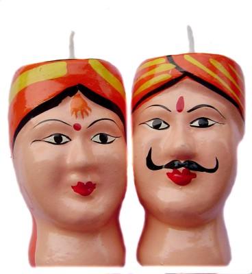 Rastogi Handicrafts Couple-O Candle
