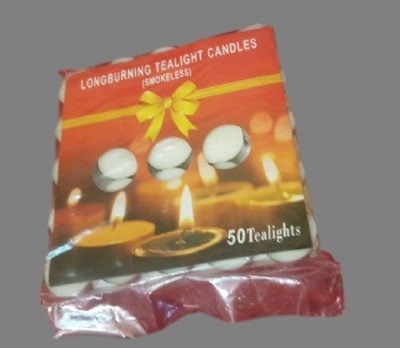 POOJA GHAR 50 TEA LIGHT Candle