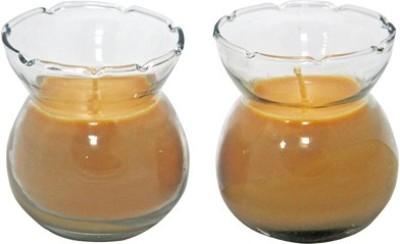 Aroma India Designer Pot Candle Set (set of 2) - Sandalwood Candle