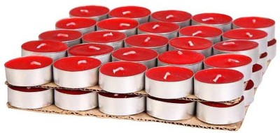 Toygully Red Tea Light Candle