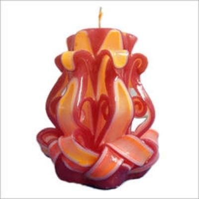 My Art Spiral Decorative Candle