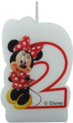 Disney Minnie Café-Birthday Numeral No2 Candle