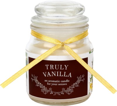 Khatte Meethe Desires Dome Jar Aroma Candle - Vanilla Candle