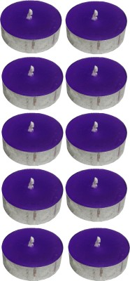 Atorakushon Scented Smokeless Tealight T-Lite Candle(Purple, Pack of 40)