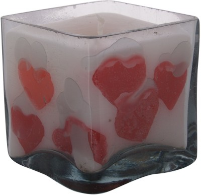 A33 Store Square Shape Heart Candle