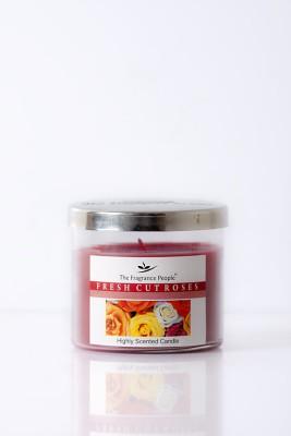 The Fragrance People Medium Jar Rose Candle