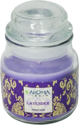 Aroma India Scented Bell Jar Candle