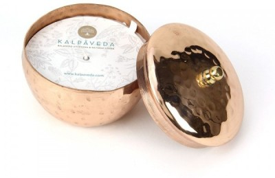 Kalpaveda Rosemary Copper Candle