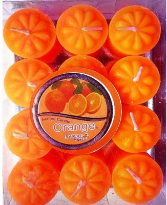 Azone Shopping Orange Set of 12 (Votive) Candle