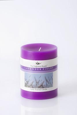 The Fragrance People Medium Pillar 3 x 4 Lavender Candle