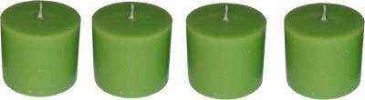 Light Jewels Aromatic Pillar Set Of 4 Candle