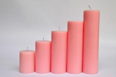 Maxime Unscented Pillar Candle