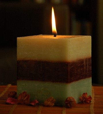 D-light Green Tea Candle