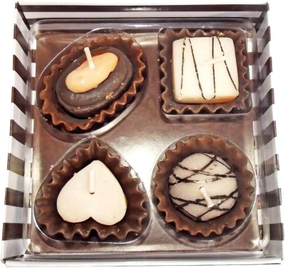 Zarsa Gift Pack Of Chocolate Candle