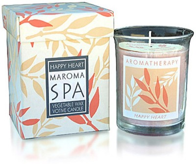 Maroma Happy Heart Candle