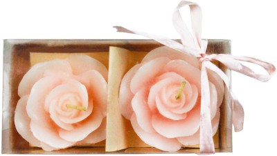 The Candle Shop Baby Pink Rose Candle