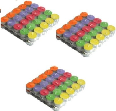 Rasmy Candles Multicolour Tealight Pack Of 150 Candle