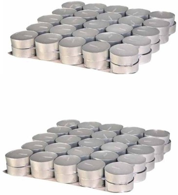 Rasmy Candles White Tealights 50pcs Buy One Get One Free Candle