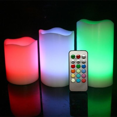 Exciting Lives Party Lights Candle