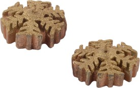 Giftadia Floating Candles CC-1298 Gold Candle(Gold, Pack of 2)