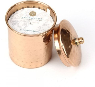 Kalpaveda Chamomile Cyndrical Copper Candle