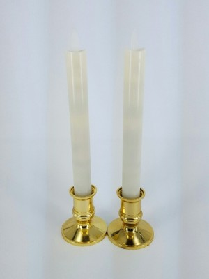 Magnifico Led Taper Dancing Flame Candle