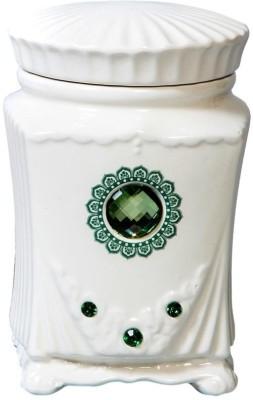 Peacock Life Ceramic Candle