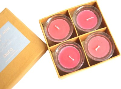 Aurocandles Be Enchanted ( Red ) Candle