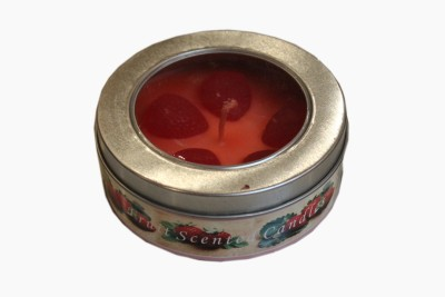 Fragrance Concoction Strawberry fragrance tin Candle